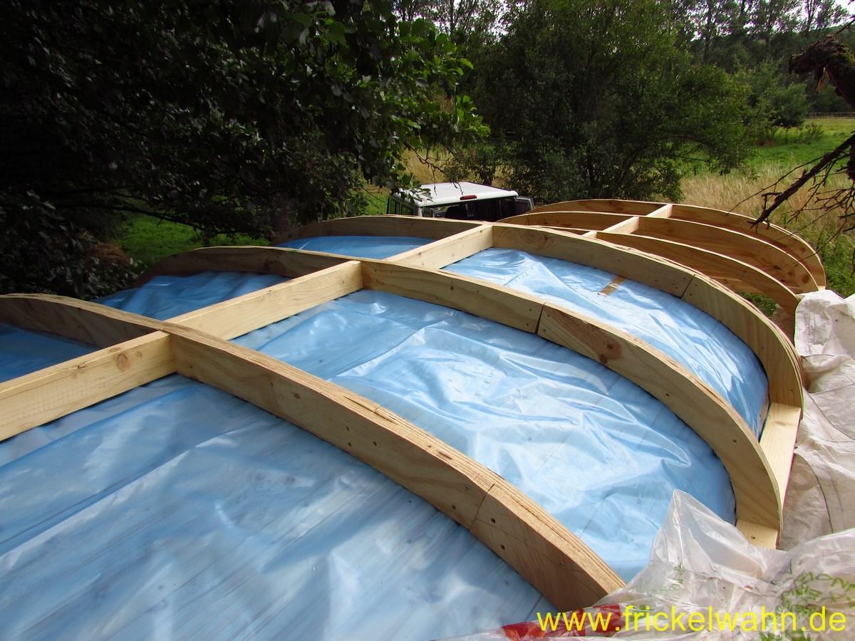 rundes dach selber bauen