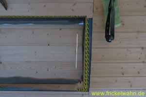 Bauwagen Fenster DIY II