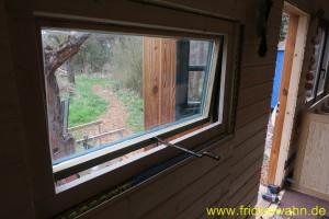 Bauwagen Fenster DIY Innen