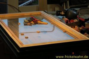 Bauwagen Fenster Einglasen Dryfit