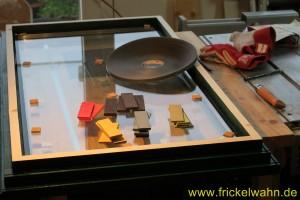 Bauwagen Fenster Einglasen I
