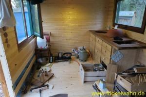 Bauwagen Küche Umzug